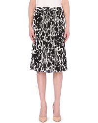 Max Mara Nostoc Floral-Print Skirt - For Women - Lyst