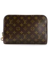 Louis Vuitton Monogram Orsay Clutch - Lyst