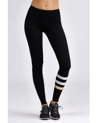 Sundry | Striped Yoga Pant | Lyst