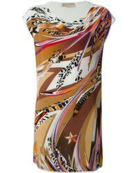 Emilio Pucci Printed Loose Fit Dress - Lyst