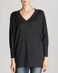 Karen Millen Sweater - V-neck Tunic - Lyst