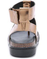 Atelje71 - Ajax Sandals - Bronze - Lyst