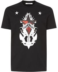 Givenchy Anchor Star Print T-Shirt - Lyst