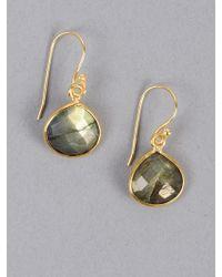 Armitage Avenue | Drop Stone Earring | Lyst