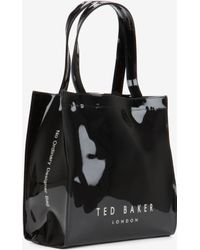 Ted Baker Patent Bag And Umbrella Set - Lyst