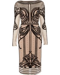 Temperley London Crivelli Fitted Dress - Lyst