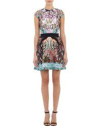Mary Katrantzou Mixed Print Ponte Dress - Lyst