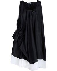 Viktor & Rolf Short Dress black - Lyst