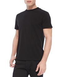 Theory Andrion Tee in Plaito Silkblend - Lyst
