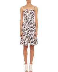 Opening Ceremony Painted Leaves Print Dress - Lyst