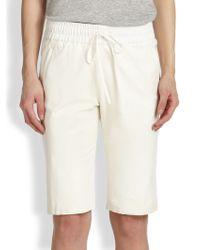 Sachin & Babi - Futuna Long Leather Shorts - Lyst