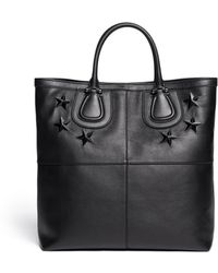 Givenchy Nightingale Embossed Star Leather Tote - Lyst