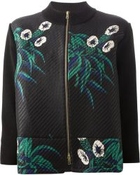Marni Zipped Up Cardigan - Lyst