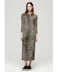 Rag & Bone Animal Leopard Dress - Lyst