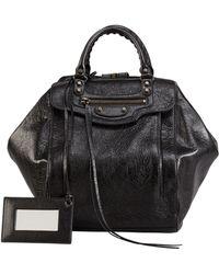 Balenciaga Classic Zip Traveler Backpack Black - Lyst