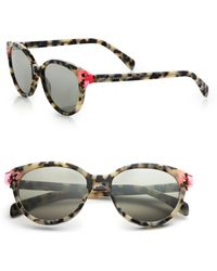 Marc By Marc Jacobs Contrast Temple 51Mm Cat'S-Eye Sunglasses multicolor - Lyst