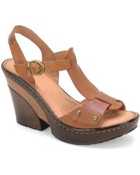 Born - Blintz Leather Sandals - Lyst
