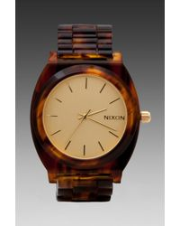 Nixon The Time Teller in Brown - Lyst