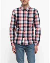Native Youth Cubic Check Shirt - Lyst