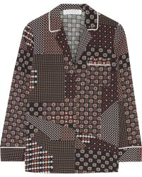 Thakoon - Addition Printed Crepe De Chine Shirt - Lyst