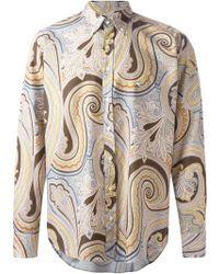 Etro Paisley Print Shirt - Lyst