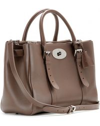 Mulberry Bayswater Double Zip Leather Tote - Lyst