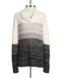 Calvin Klein Ombre Cowl Neck Sweater - Lyst