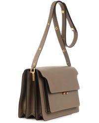 Marni Trunk Leather Shoulder Bag - Lyst
