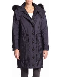 Burberry Brit Tallingford Fur-trim Three-in-one Parka - Lyst