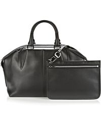 Alexander Wang Emile Doctor Satchel In Black With Rhodium - Lyst
