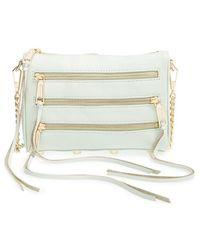 Rebecca Minkoff 'Mini 5 Zip' Convertible Crossbody Bag - Lyst