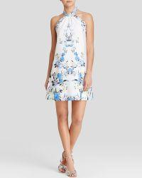 Cynthia Steffe Dress - Monte Halter blue - Lyst