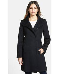 Fleurette Piacenza Wool-Blend Coat - Lyst