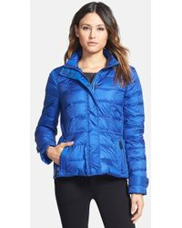 Burberry Brit - 'dalesbury' Quilted Down Jacket - Lyst
