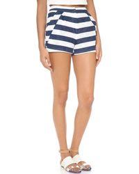 O'2nd - Stripe Shorts  - Lyst
