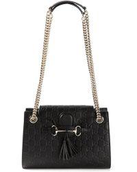 Gucci Small 'Emily' Shoulder Bag - Lyst