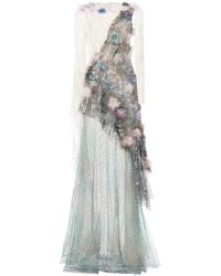 Rodarte Feathers and Net Gown - Lyst