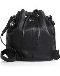 Alexander McQueen Padlock Bucket Shoulder Bag - Lyst