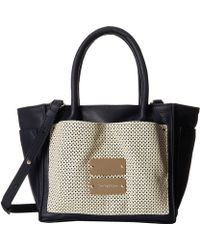 See By Chloé Nellie Small Zipped Tote With Crossbody Strap - Lyst