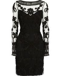 Temperley London Jayla Embellished Tulle Dress - Lyst