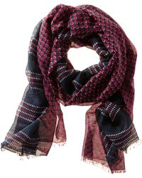 Banana Republic Patricia Scarf Strawberry Red - Lyst