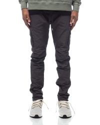John Elliott | Cargo Pants In Charcoal | Lyst