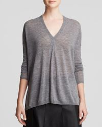 Vince Sweater - Lightweight Double V - Lyst