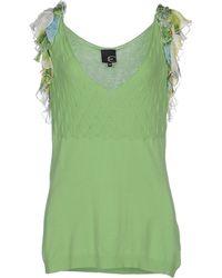 Just Cavalli Jumper green - Lyst