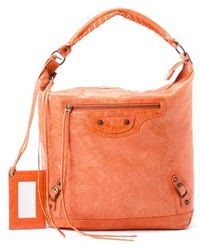 Balenciaga Pre-owned Day Shoulder Bag - Lyst