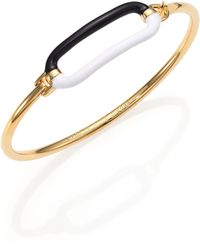 Marc By Marc Jacobs Enameled Bubble Hinge Cuff Bracelet - Lyst