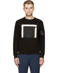 Cy Choi - Black and White Square Sweatshirt - Lyst