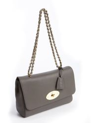 Mulberry Lily Medium Glossy Goat Leather Shoulder Bag - Lyst