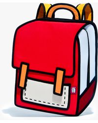 Jump From Paper Spaceman Backpack Red - Lyst