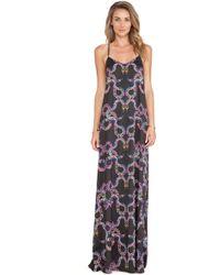 Mara Hoffman Multicolor Camisole Gown - Lyst